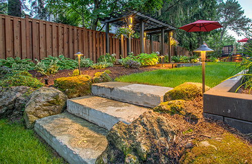 Landscape Lighting Property